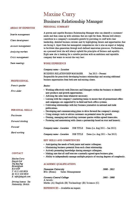 networking jobs resume sample