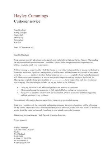 Customer service resume templates skills customer services cv Job description examples good