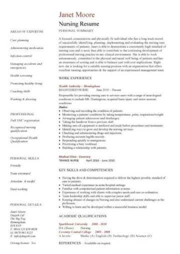 resume template nz