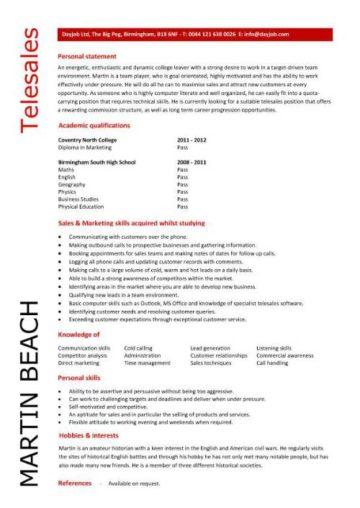 Student CV template samples student jobs graduate cv qualifications career advice