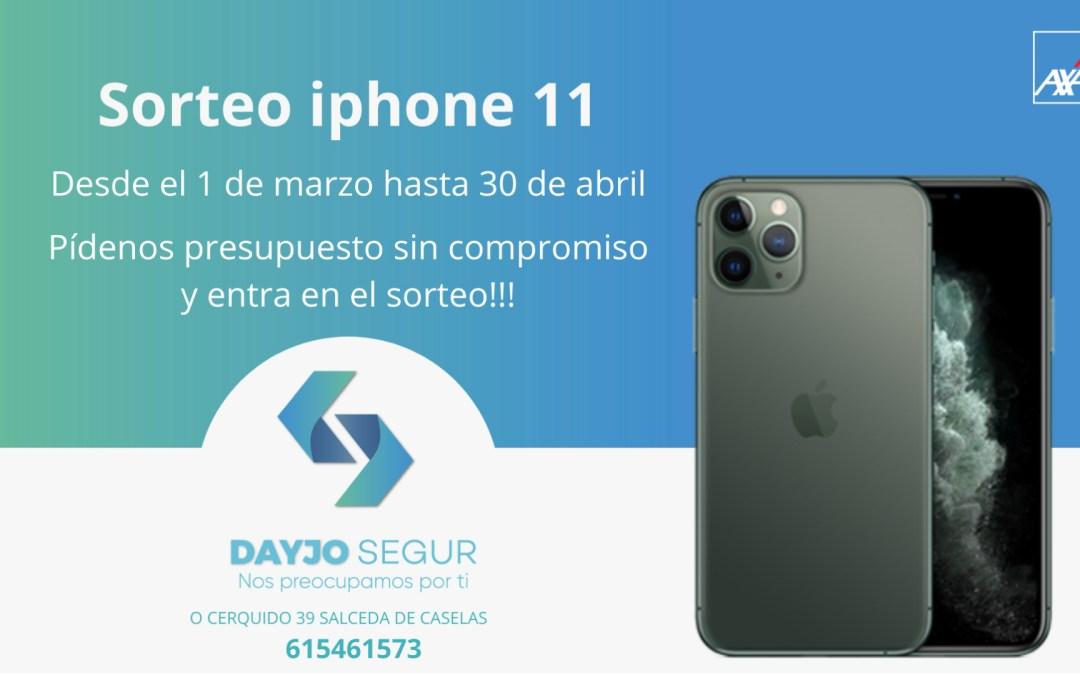 Gana un iPhone 11 con Dayjo Segur
