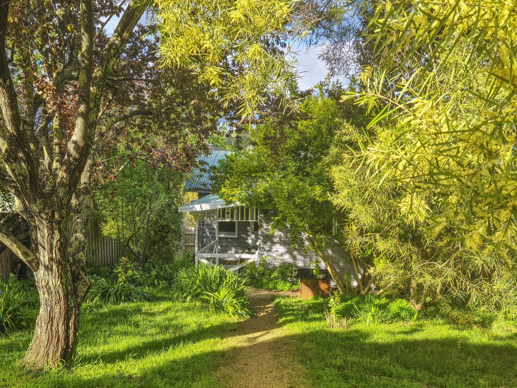 The secure and secluded second garden
