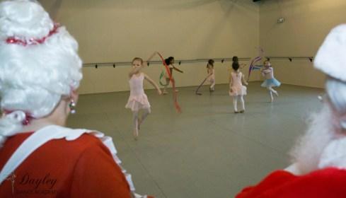 Dancing for Santa