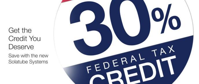 30% Federal Tax Credit