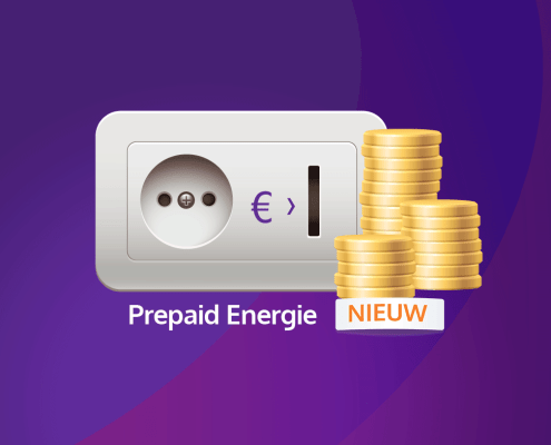 Energie Flex concept branding prepaid energie