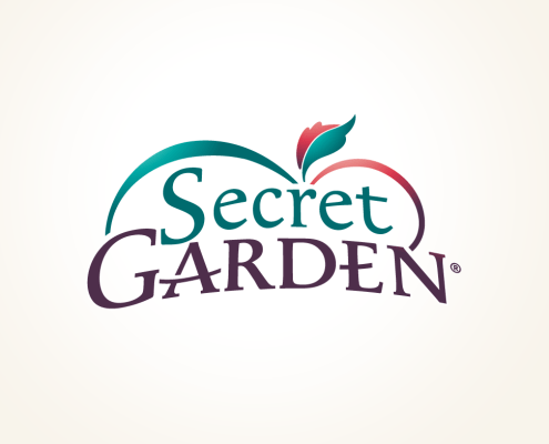 Nostalgisch logo design Secret Garden - 2019 © Daylinq