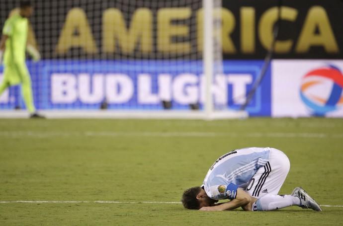 Após quarto vice pela Argentina, Messi dispara: