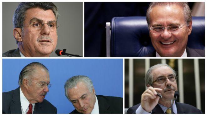 Três polêmicas envolvendo os pedidos de prisão contra Renan, Sarney, Jucá e Cunha