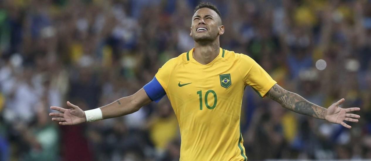 Seleção Brasileira :  Neymar decide, e Brasil bate Alemanha nos pênaltis pelo ouro