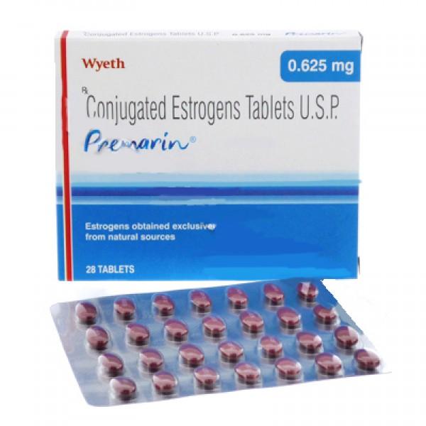 Buy Generic Premarin (Conjugated Estrogens) 0.625mg Oral ...