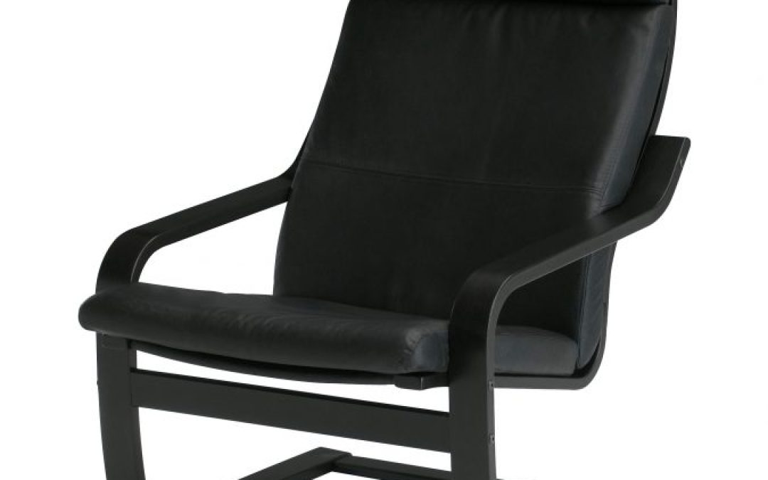 IKEA POÄNG Armchair with Leather Cushion Review