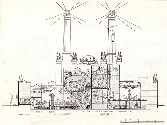 Battersea Power Station and the 7 designs that didn't