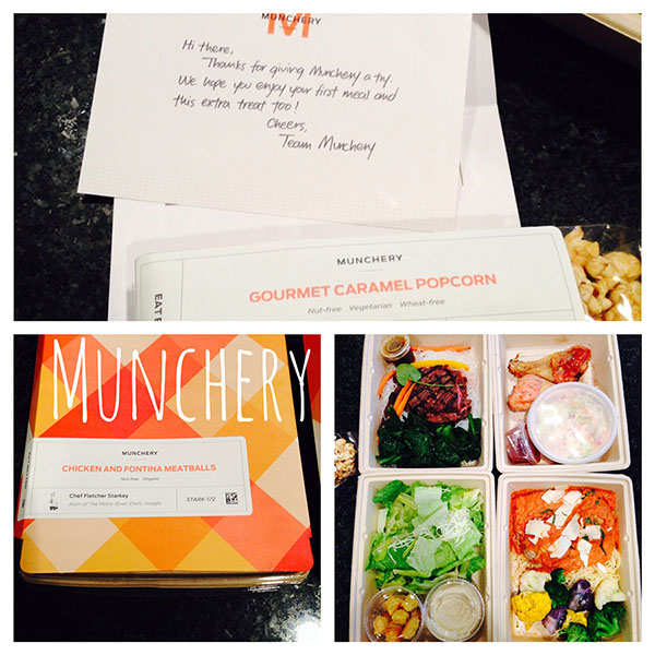 Munchery delivers wholesome, chef made dinners to the San Francisco Bay Area.