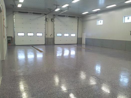 Concrete Floor Epoxy in Maine installed by Days Concrete