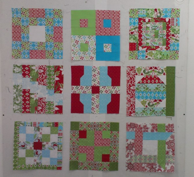 Christmas Jelly Roll Quilt-along