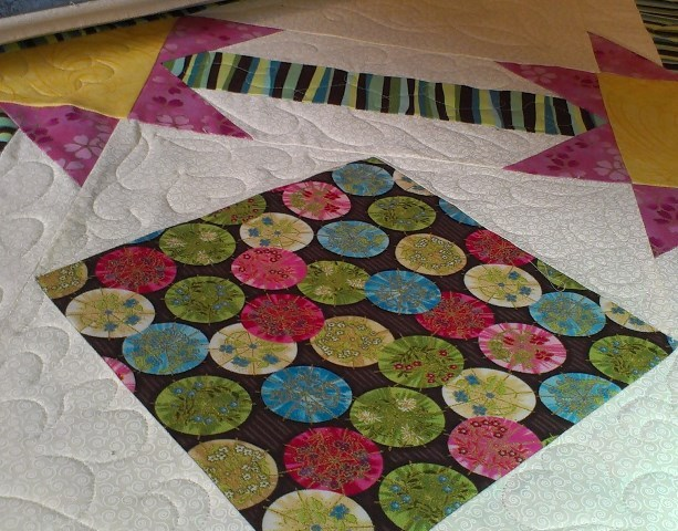 And a bit of quilting…