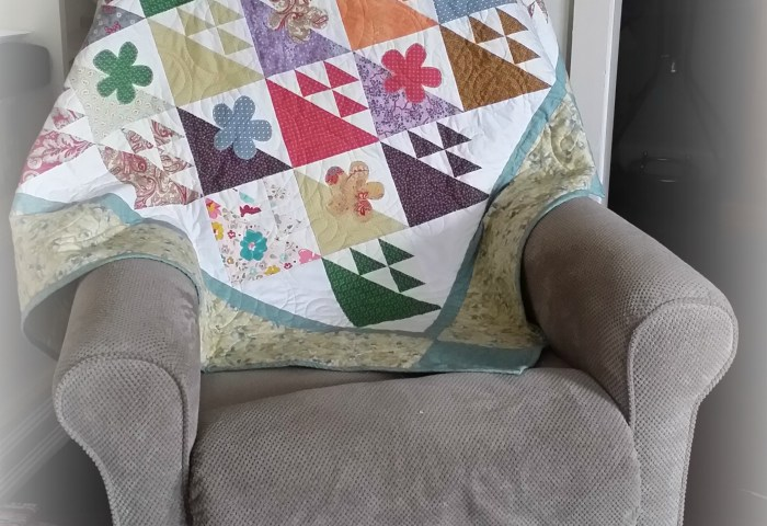 I bought a quilt!