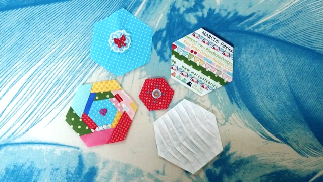 12 Days of Embellished Hexies