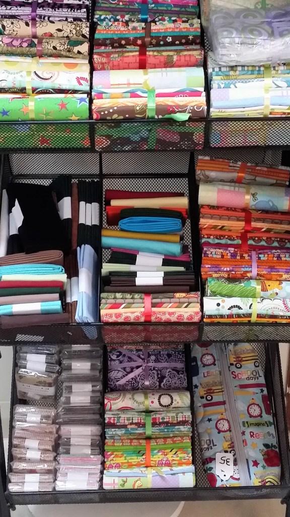 selling fabric precuts