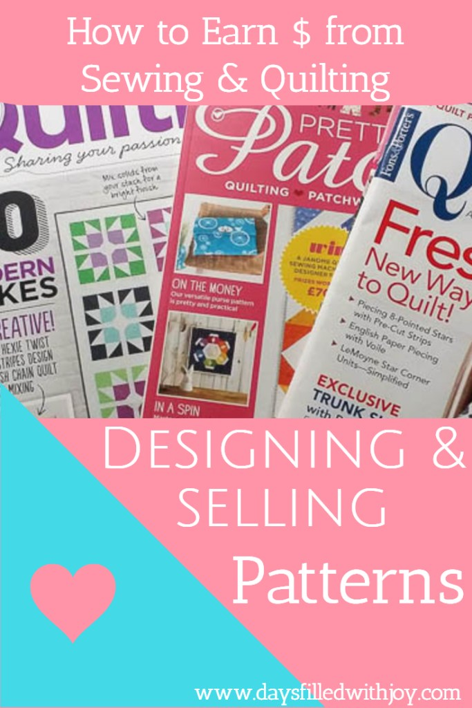 Designing and Selling Patterns