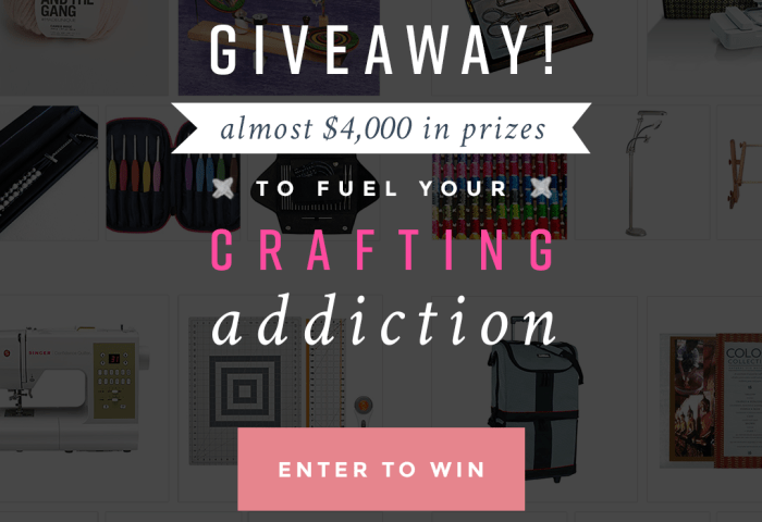 Awesome Giveaway for Crafters!!