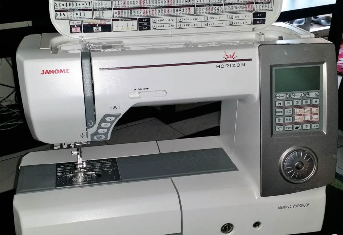The Joy of a New Janome Sewing Machine!