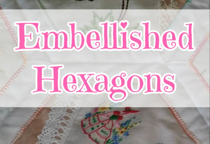 Embellished Hexagons