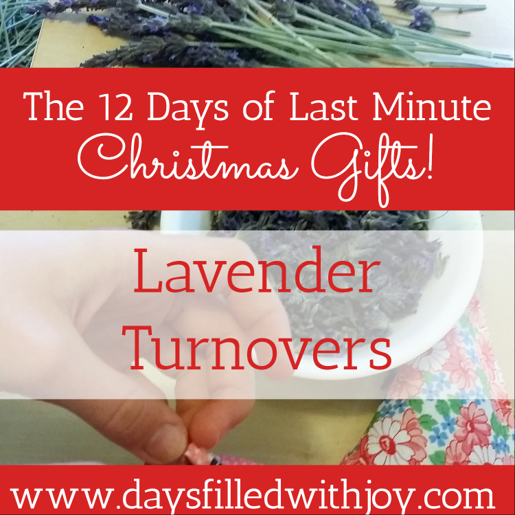 Lavender Turnovers