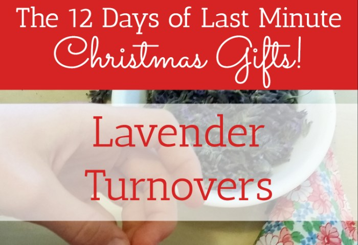 Lavender Turnovers