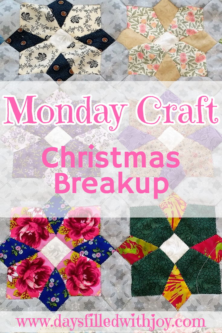 Monday Craft Christmas Breakup