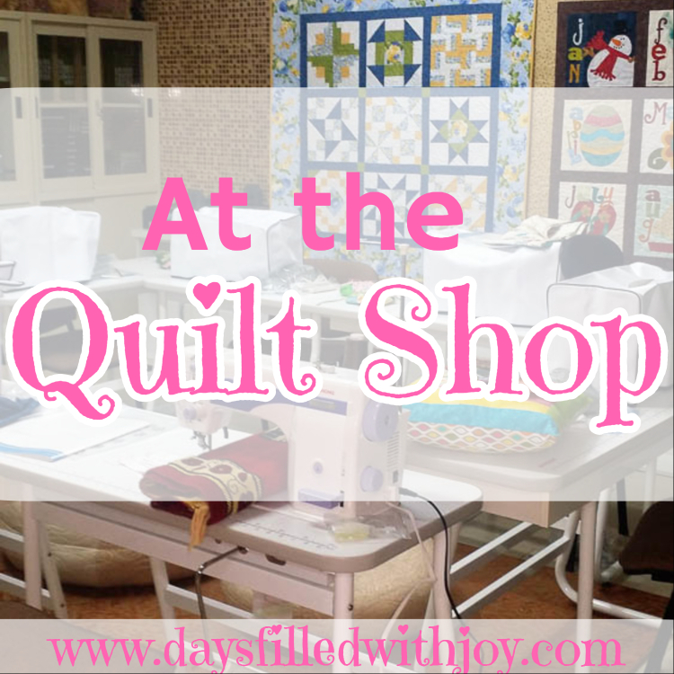 At the Quilt Shop....