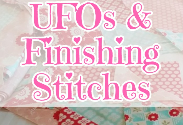 UFO Goals and Finishing Stitches for 2018!