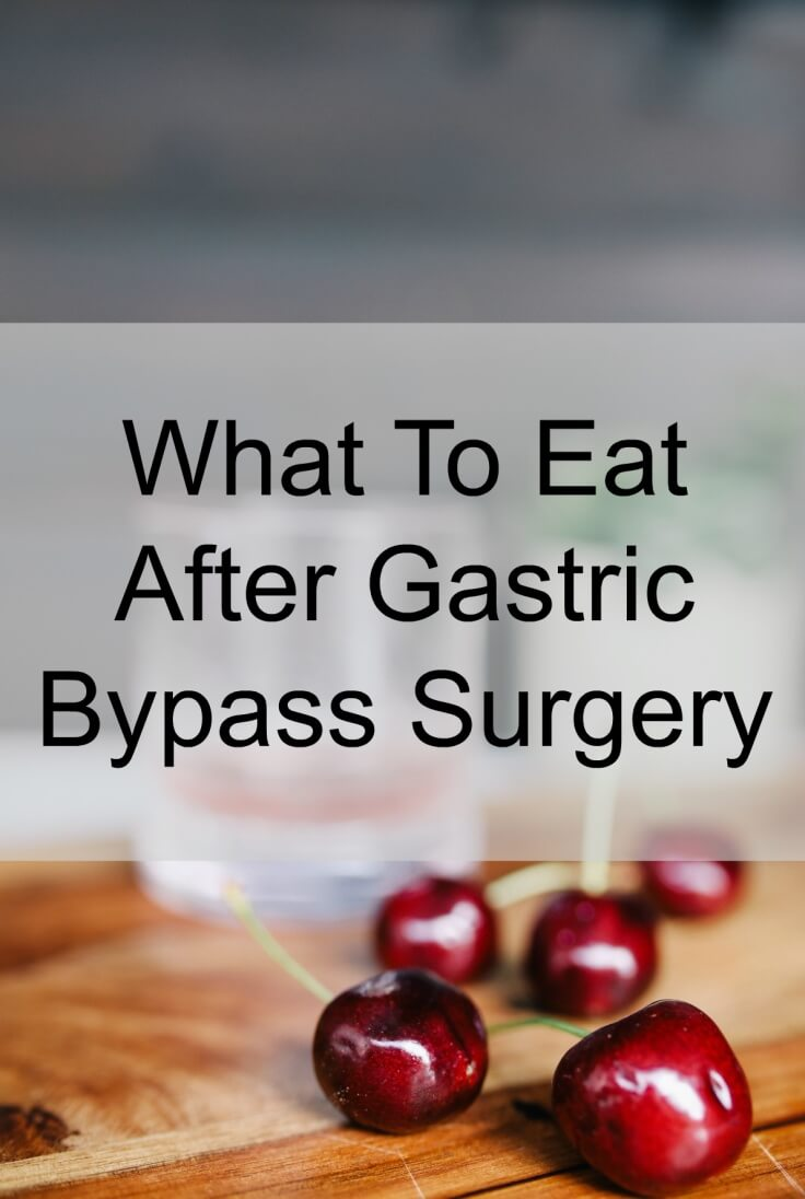 Gastric Bypass Foods