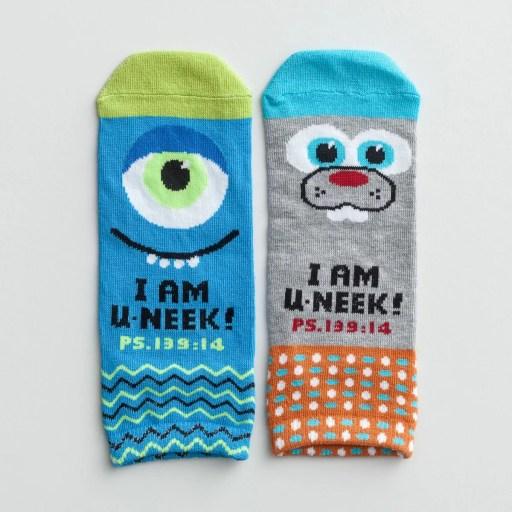 U-NEEKS - Indigo/Jazzmine - BFF Socks, 1 Pair