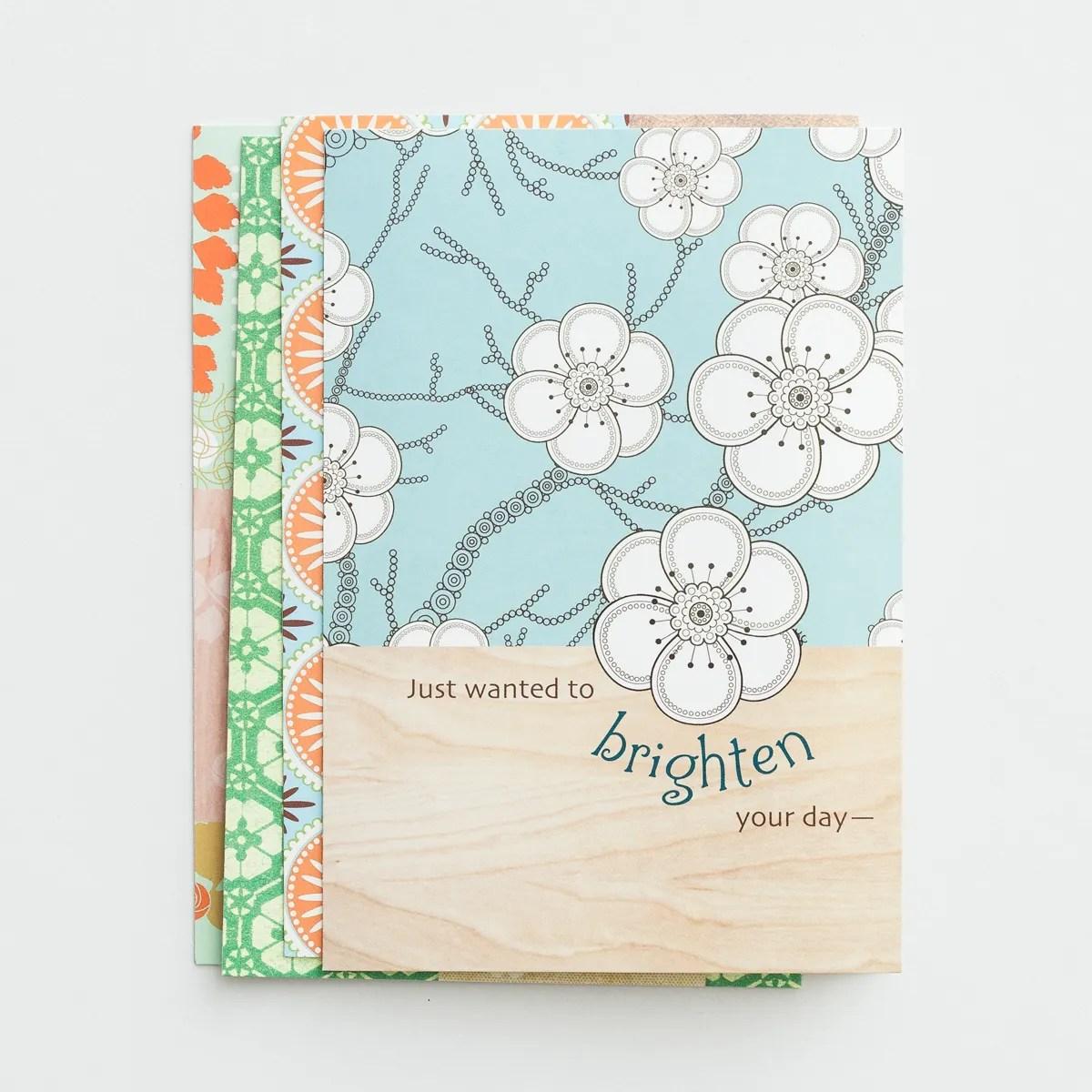 Thinking of You - Joyful Thoughts - 12 Boxed Cards
