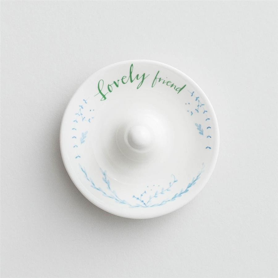 Lovely Friend - Ring Holder