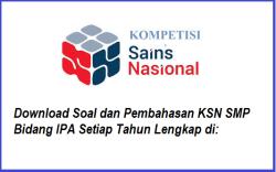 Soal & Pembahasan KSN / OSN IPA SMP Tahun 2021 PDF (KSN-K KSN-P KSN Nasional)