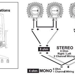 8 Ohm Speaker Wiring Diagrams Diagram Of An Atom With Labels Dayton Audio Bst 1 High Power Pro Tactile Bass Shaker 50 Watts Installation