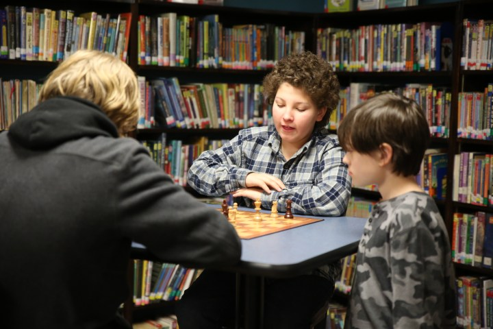 Quiet Game Time - Children's Library