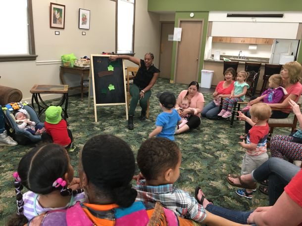 Toddler Storytime every Wednesday 10 a.m.