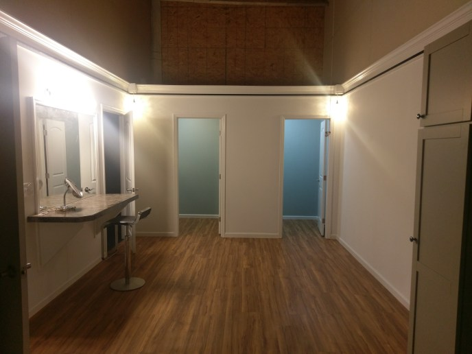Dressing Room/Prep area off Studios B & C