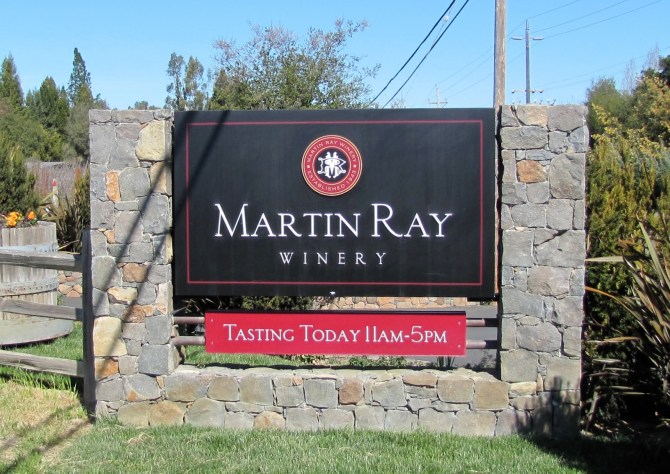Martin Ray was a more laid back winery