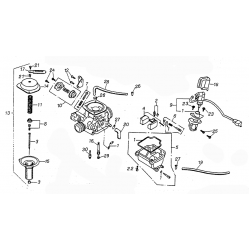 Carburetor (Kasea Adventure Buggy 125)