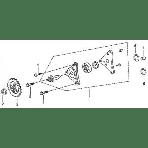 Oil Pump (Adly ATV 90II 4T (CVT))