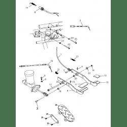 Pedal System (Adly Mini Car 320)