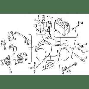Wire Harness (Barossa ATV 170)