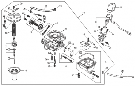 Chinese 4 Wheeler Parts Diagram Chinese 50Cc 4 Wheeler