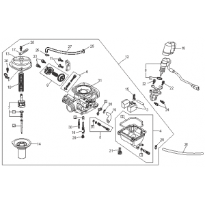 Carburetor (Kasea Adventure Buggy 150)