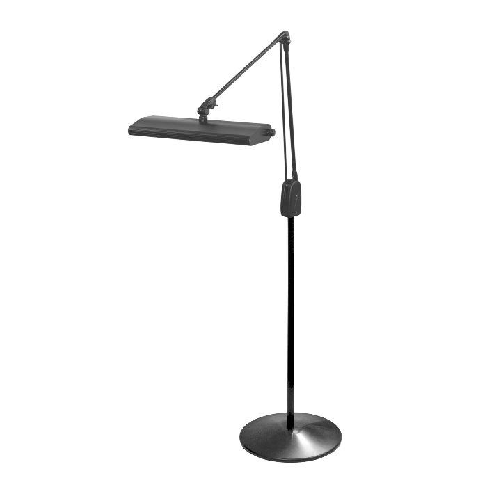 Dazor  Lumilus LED Weighted Floor Stand Task Light 41 in