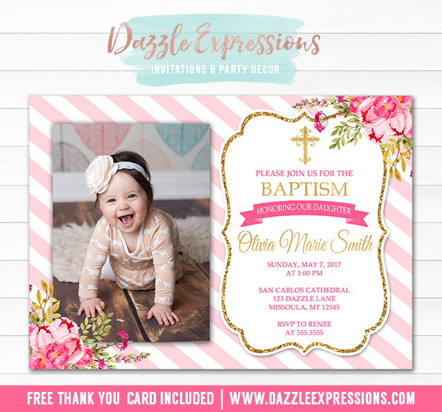 How Make Christening Invitation
